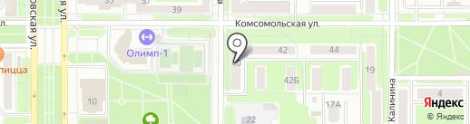 Баланс на карте Новомосковска