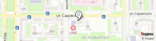 Магазин бытовой техники на карте Новомосковска