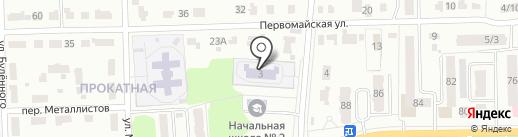 Детский сад №26, Солнышко на карте Донского