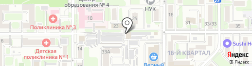 МВН-Снаб на карте Новомосковска