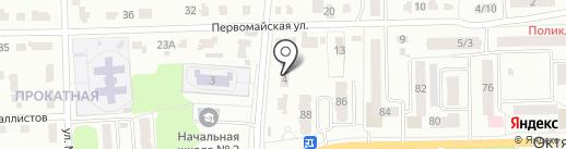 Зеленый огонек на карте Донского