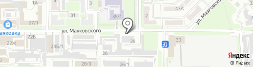АВТОКЛУБ на карте Новомосковска