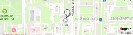 НЭСК на карте Новомосковска