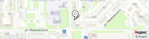 Образовательный центр технической подготовки кадров на карте Новомосковска