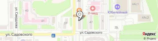 АвтоКарусель на карте Новомосковска