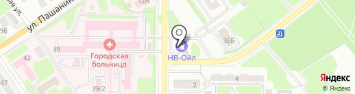 Media Сфера на карте Новомосковска