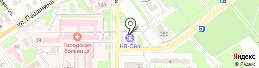 Честный Ритуал на карте Новомосковска