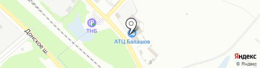 Автосервис на карте Донского