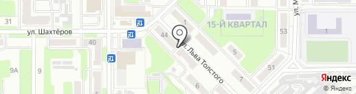 Мировые судьи Новомосковского района на карте Новомосковска