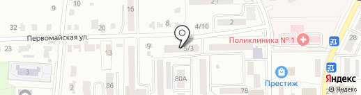 Ласточка на карте Донского