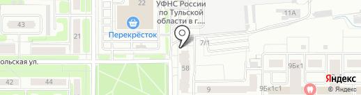 Бухгалтерское бюро на карте Новомосковска