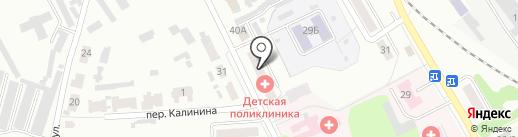 Детская поликлиника на карте Донского