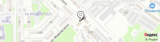 Отдел государственной статистики в г. Новомосковск на карте Новомосковска
