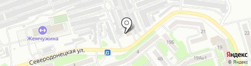 Dupont на карте Новомосковска