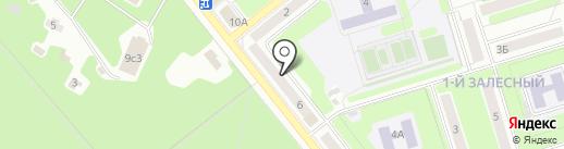Визаж на карте Новомосковска