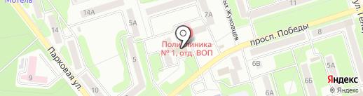 Центр приема платежей Юг на карте Новомосковска
