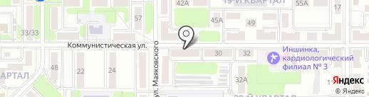 Точка2 на карте Новомосковска