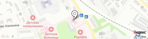 Скорая медицинская помощь на карте Донского