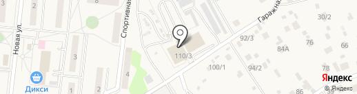 Магазин автозапчастей на карте Литвиново