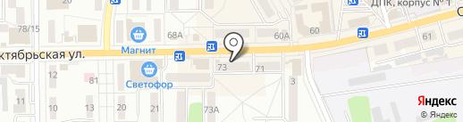 Фуршет на карте Донского