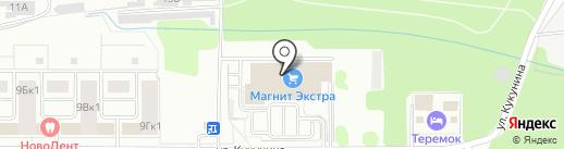 Японо-мама на карте Новомосковска