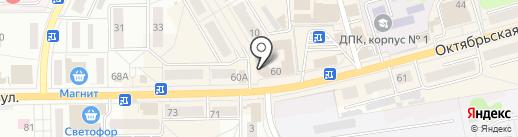 Магазин нижнего белья на карте Донского