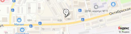 Триколор на карте Донского
