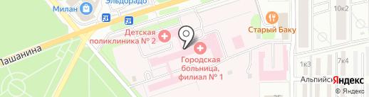 2000 на карте Новомосковска