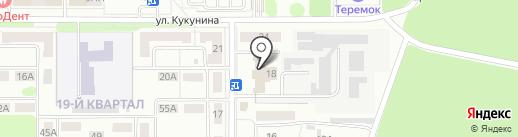 Низвольт на карте Новомосковска