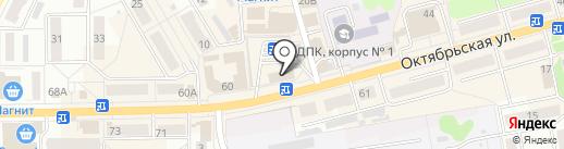 Доктор Рубль на карте Донского