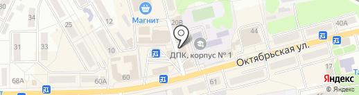Магазин постельного белья на карте Донского