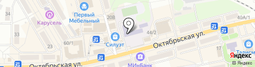 Среднерусская академия современного знания, АНО на карте Донского