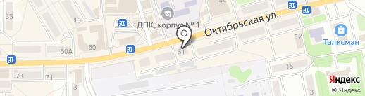 Московский Индустриальный банк на карте Донского