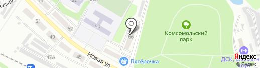 Фонд социального страхования РФ на карте Донского
