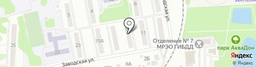 Ростехинвентаризация на карте Донского