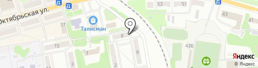 Магазин бытовой химии и нижнего белья на карте Донского