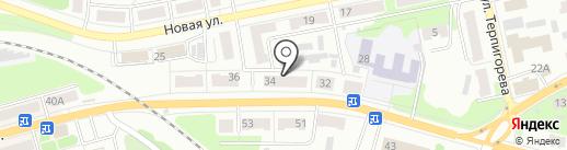 Банкомат, Среднерусский банк Сбербанка России на карте Донского