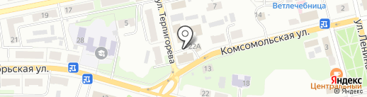 Молоток на карте Донского