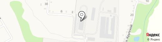 Абинск-ЧТЗ-сервис на карте Ахтырского
