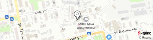 Участковая ветеринарная лечебница на карте Донского