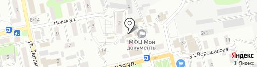 Участковая ветеринарная лечебница г. Донского на карте Донского