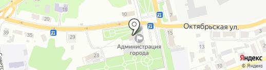 Сектор по делам ГО и ЧС на карте Донского