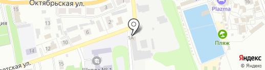Столярная мастерская на карте Донского
