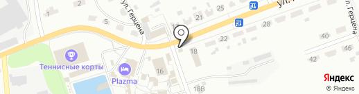 Копеечка на карте Донского