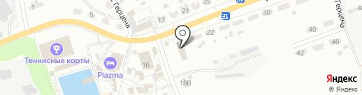 Магазин товаров для рыбалки на ул. Герцена на карте Донского
