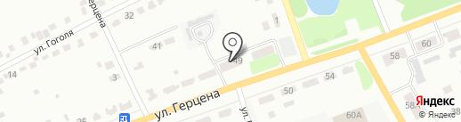 Донской-5 на карте Донского