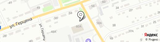 Дом Тент на карте Донского