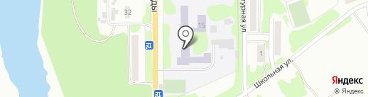 Донская общеобразовательная школа-интернат на карте Донского