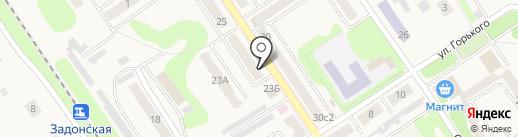 Аникс на карте Донского