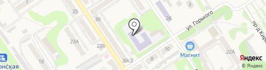 Средняя общеобразовательная школа №5 на карте Донского